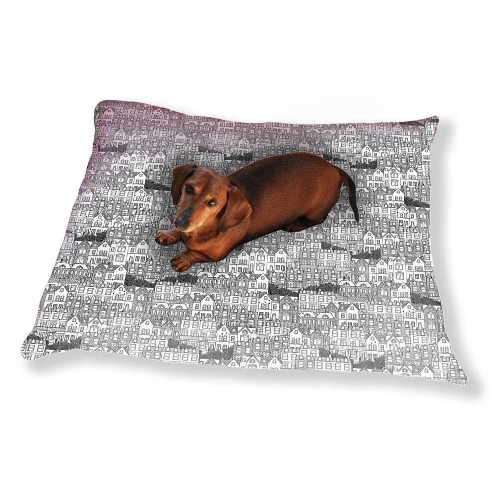 Uneekee British Houses Dog Pillow Luxury Dog / Cat Pet Bed