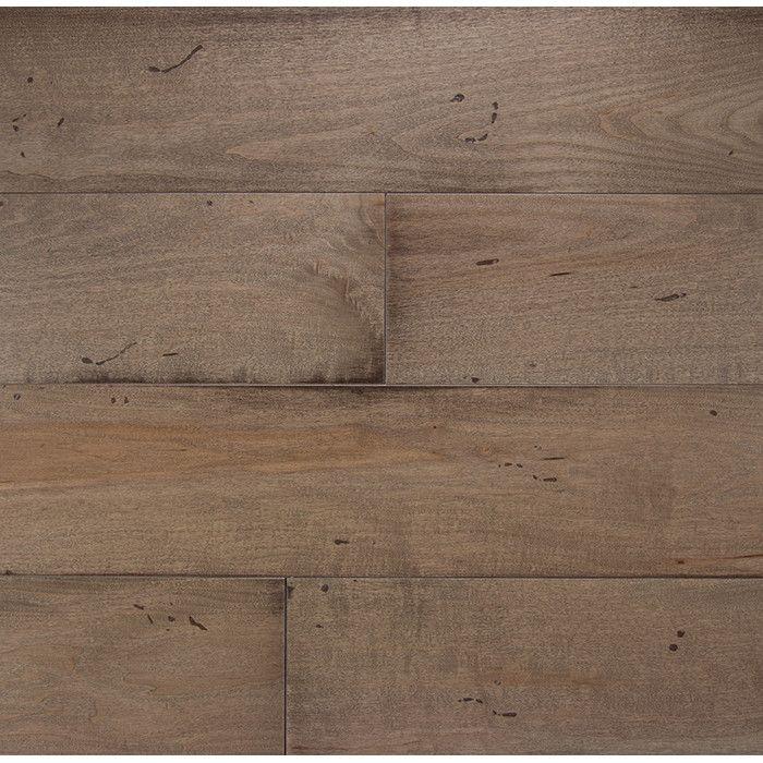 Somerset Wide Plank 6 Engineered Maple Hardwood Flooring In Mist Reviews Wayfair