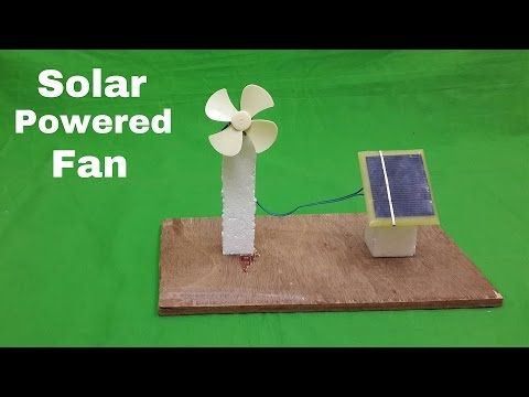 Here I Am Going To Show That How To Make A Solar Powered
