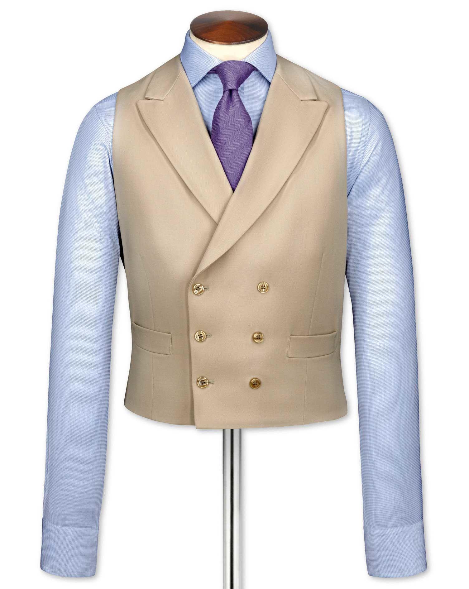 69d6e8b735e Men s Vintage Inspired Vests Buff Morning Suit Wool Waistcoat Size w48 by  Charles Tyrwhitt £160.00 AT vintagedancer.com