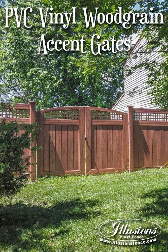 Double Fence Gate beautiful pvc vinyl rosewood double drive gates from illusions