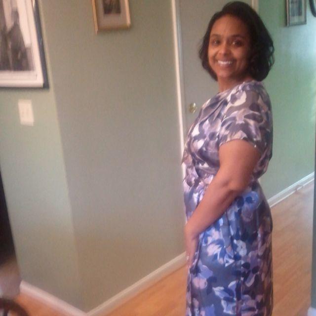 My goal dress... it fit!