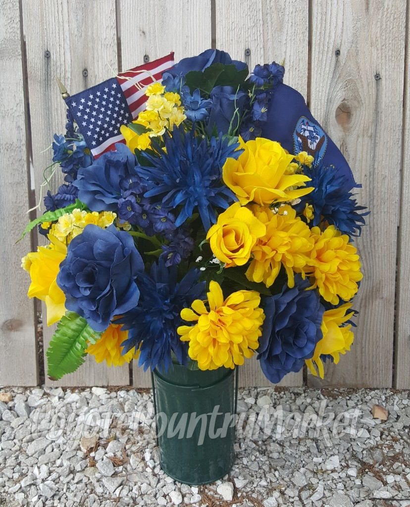 Reserved for debbie us navy memorial flowers cemetery vase reserved for debbie us navy memorial flowers cemetery vase memorial vase cemetery flowers tombstone flowers grave decoration grave flowers reviewsmspy