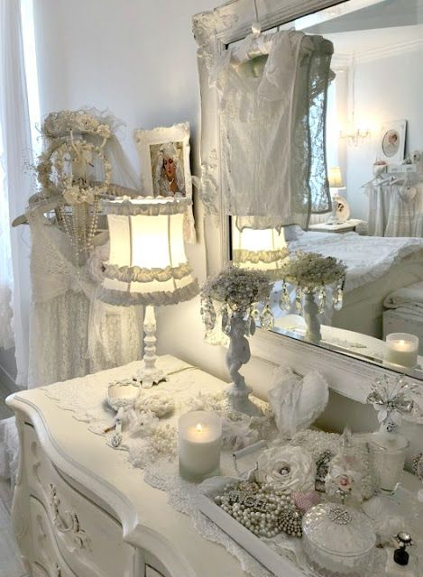 Photo of Olivia's Romantic Home: Shabby Chic Home Tour~ Annemarie MAY Cottage of the Mont…