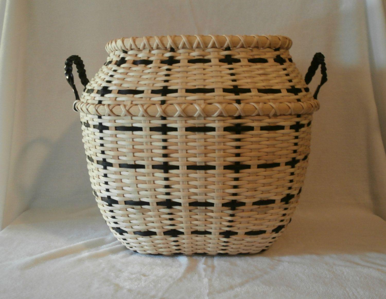 """Handcrafted Basket: """"Fuyu"""" by BasketsByMona on Etsy"""