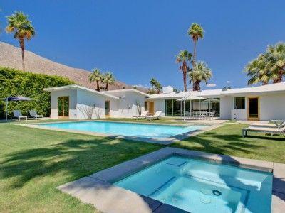 Modern house rental palm springs