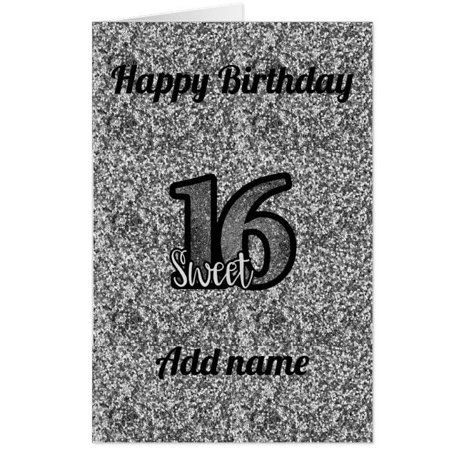 Big Giant Special Personalised 16th Birthday Card Zazzle Com 16th Birthday Card Birthday Cards 30th Birthday Cards