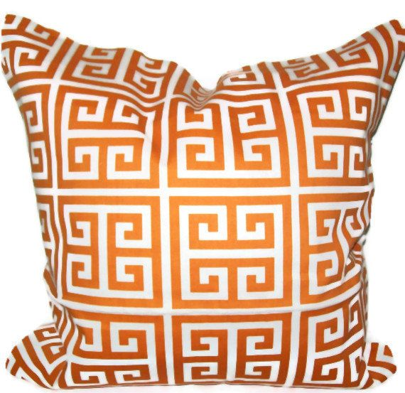 Greek Key Pillow. come in different colors