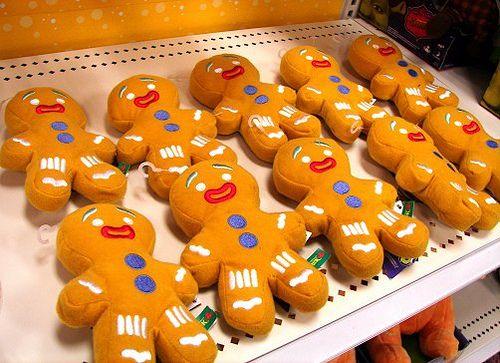 Shrek Gingerbreadman Plushies Target Shrek The Musical