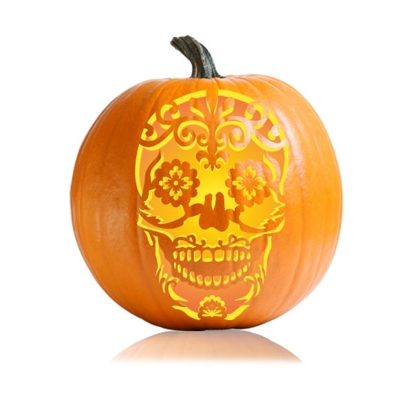 Celebrate the day of dead by carving this traditional