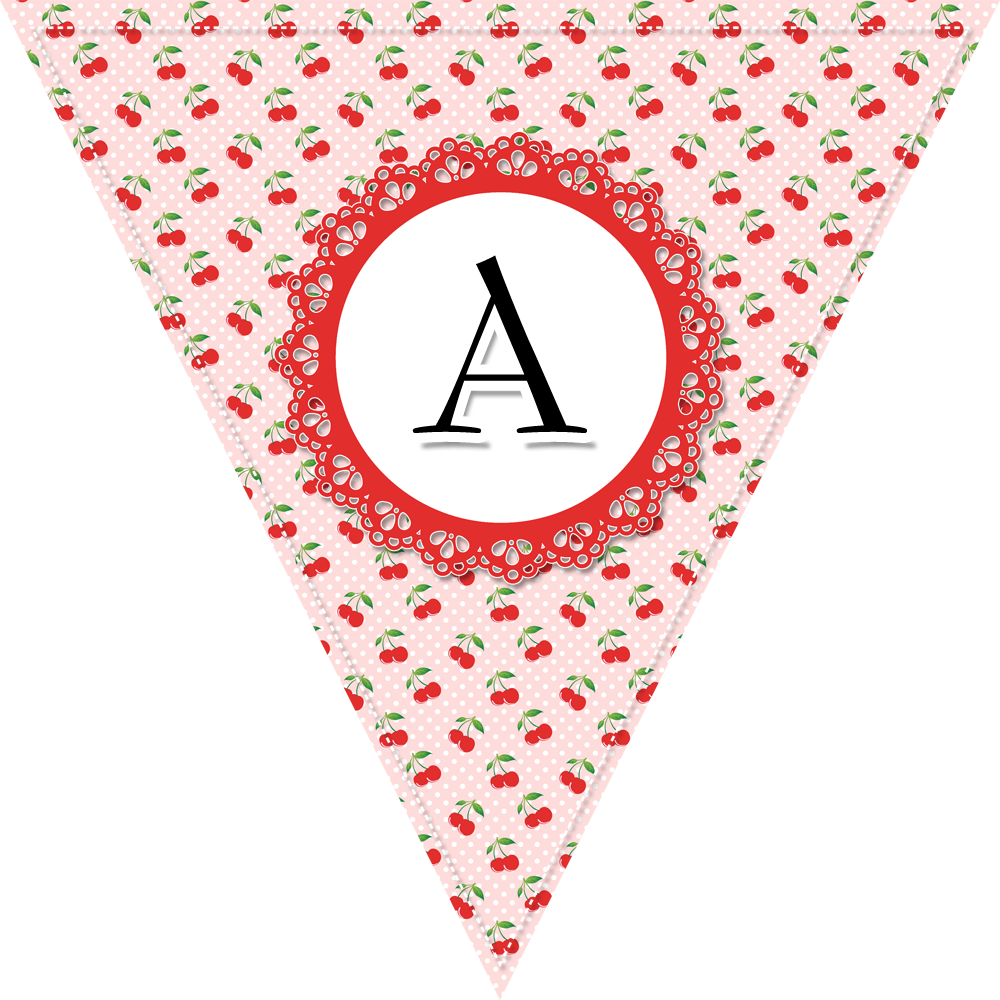 Free Printable Complete Alphabet And Number Cottage BannerBunting