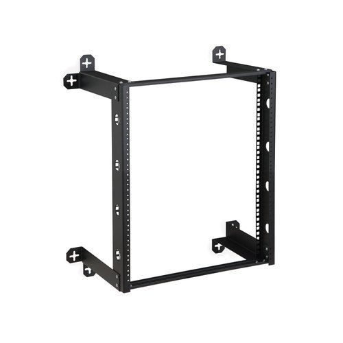 19 12u V Line Wall Mount Open Frame Rack W 10 32 Screws Usa Made Wall Mount Rack Wall Racks Frames On Wall
