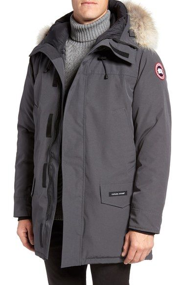 3dd6e97505e CANADA GOOSE Langford Slim Fit Down Parka with Genuine Coyote Fur ...