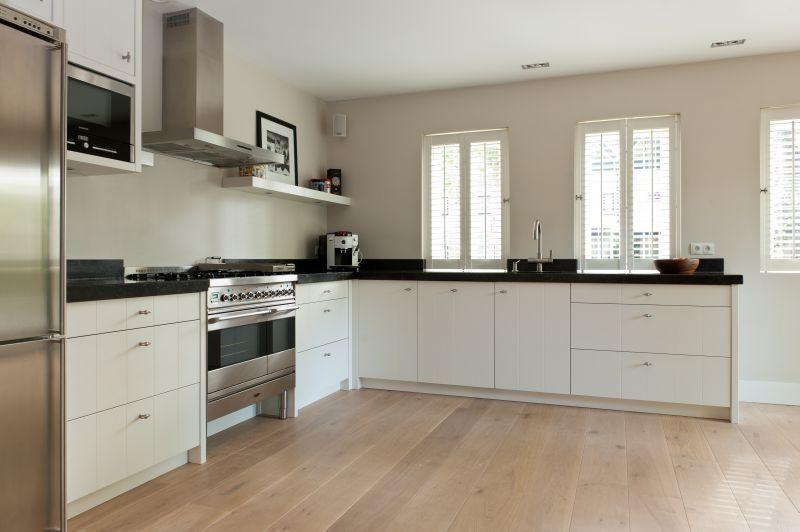Eiken met behoud van structuur keuken Interieur Makers kitchen