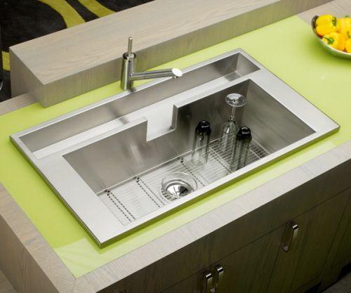 Cool Kitchen Sinksleek And Extraordinarily Functional Enchanting Cool Kitchen Sinks Design Inspiration