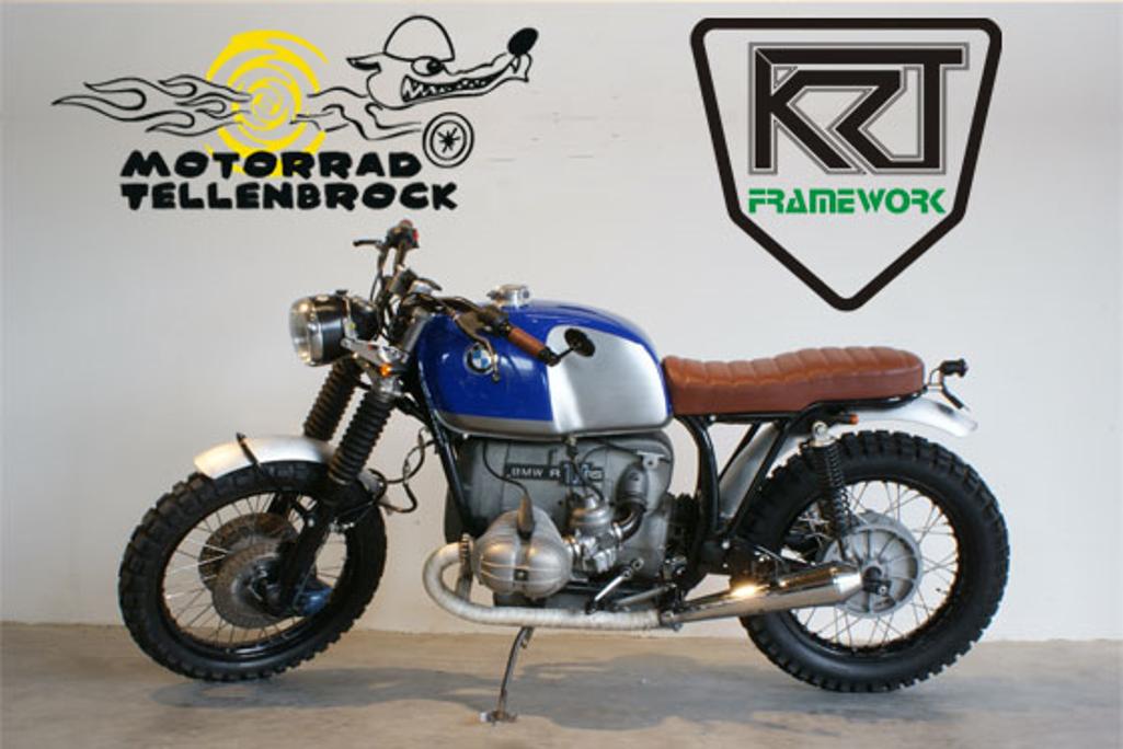 Umbau Bmw R100 Rs Scrambler Motorrad Tellenbrock Vintage Helmets