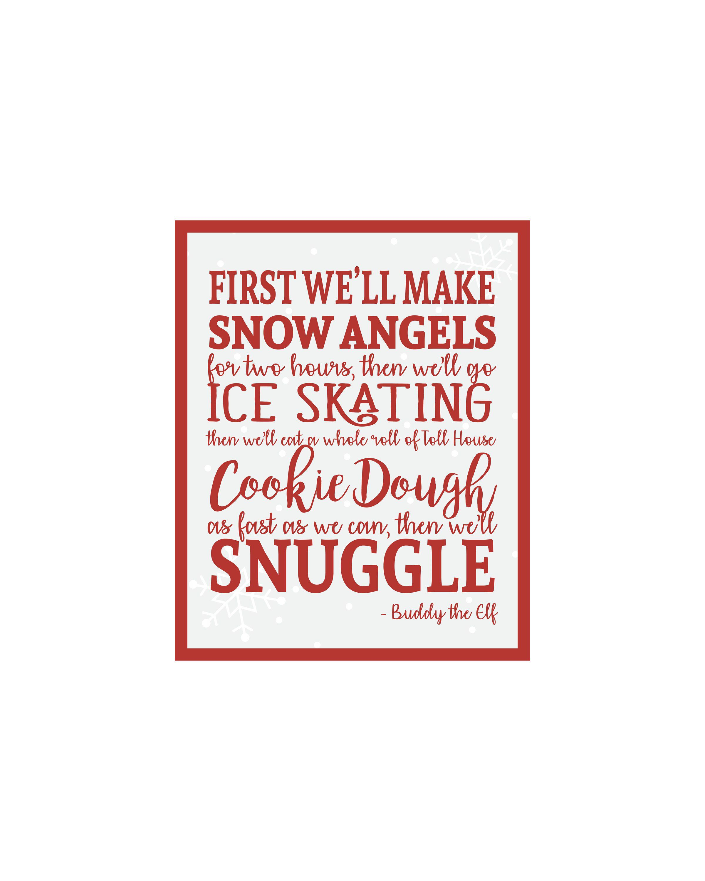 Elf Movie Quotes Printables | www.topsimages.com