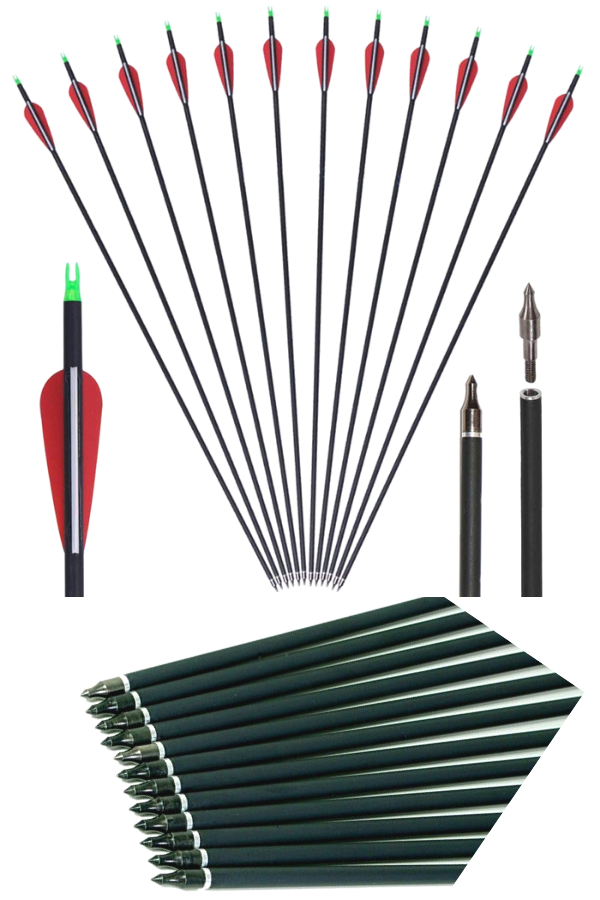 GPP Archery 30 Inch  Carbon Arrows  One of the Best target