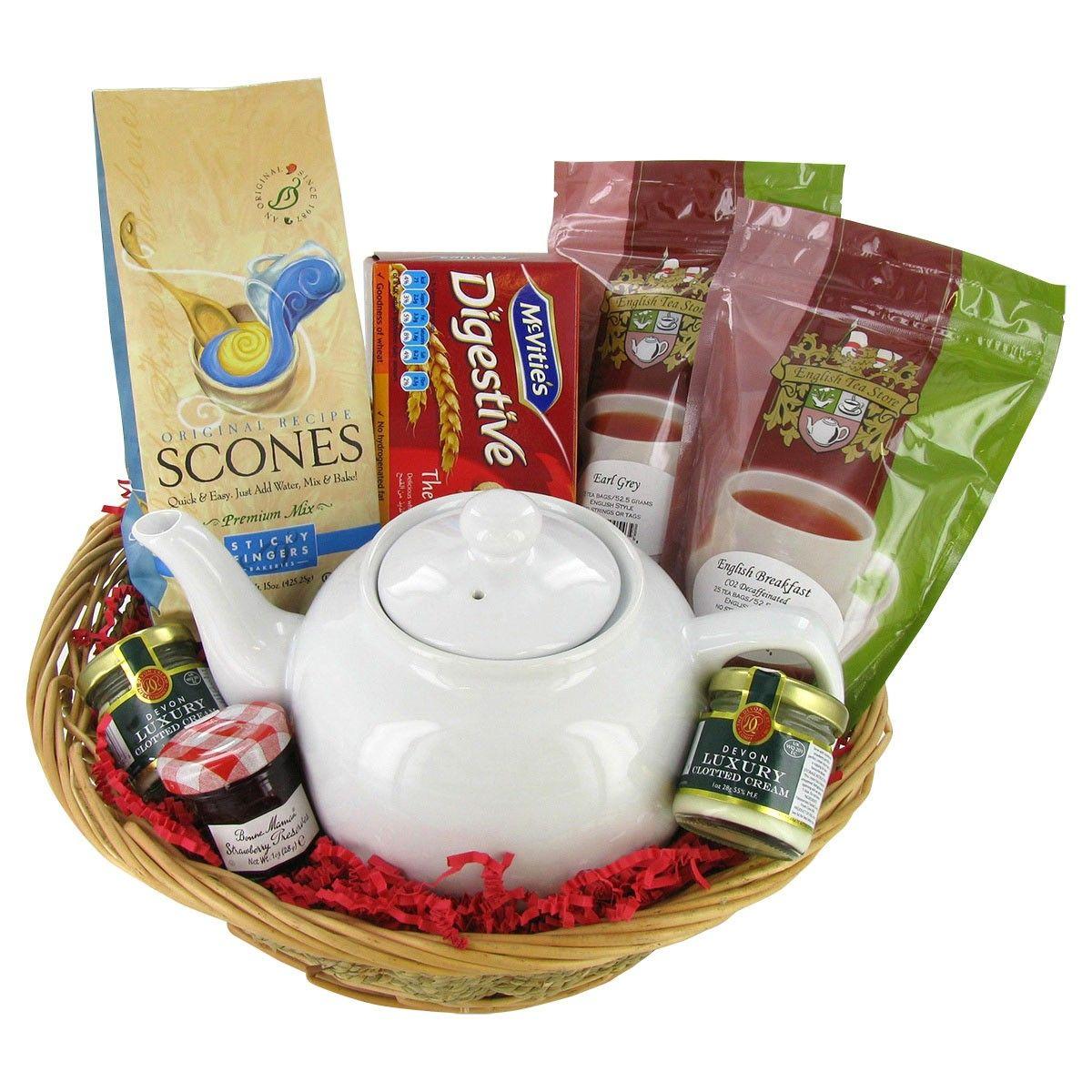 Afternoon tea gift basket tea gift baskets tea gifts