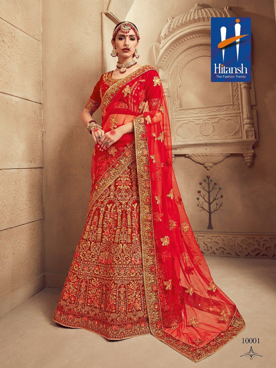748235644b HITANSH FASHION THE ROYAL BRIDE DESIGNER WEDDING LEHENGA CHOLI COLLECTION  MANUFACTURER WHOLESALER AND EXPORTER OF INDIAN WEAR IN INDIA | Sagar Impex