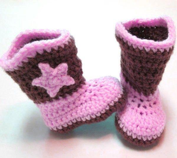 Soft Comfortable New Design Crochet Baby Booties For Baby - Buy ...