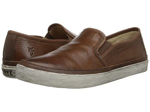 Frye Gavin Slip-On Cognac Soft Vintage Leather - Zappos.com Free Shipping  BOTH