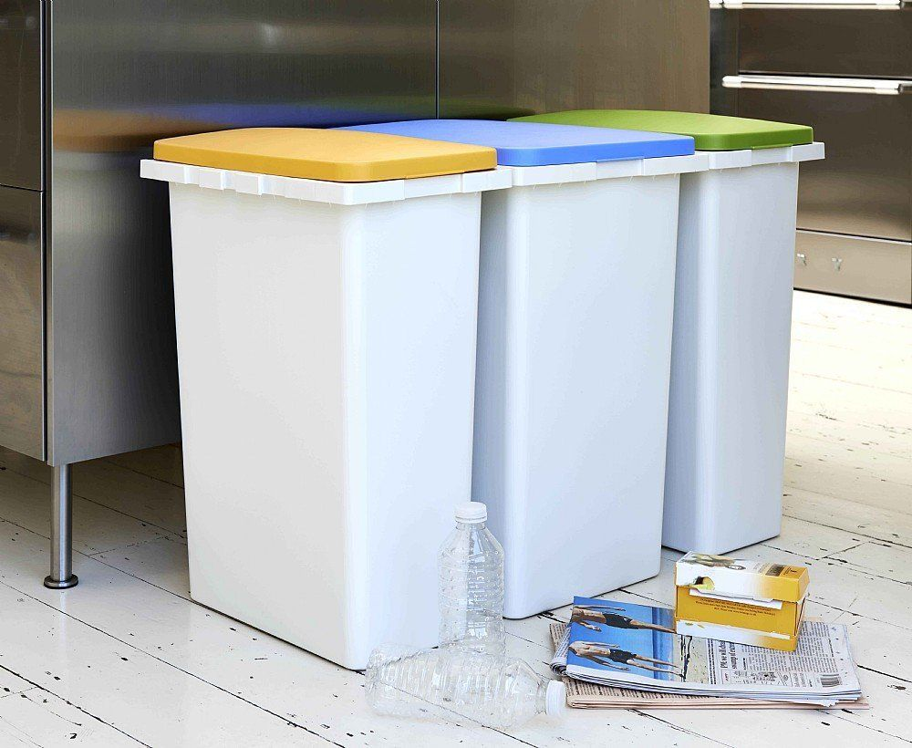 Connecting Recycling Bin: Amazon.co.uk: Kitchen U0026 Home