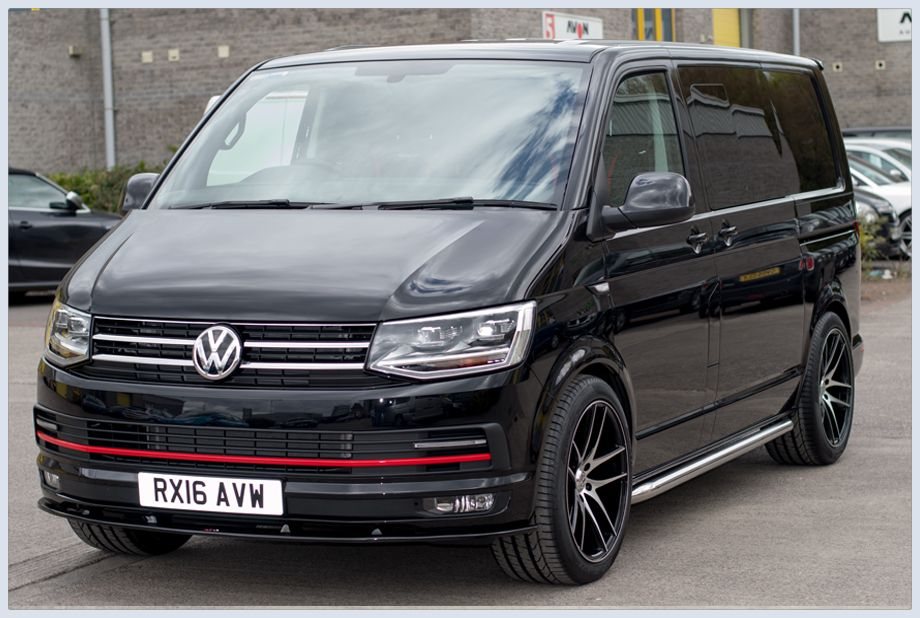 vw t6 transporter highline raceline gt highline kombi deep. Black Bedroom Furniture Sets. Home Design Ideas