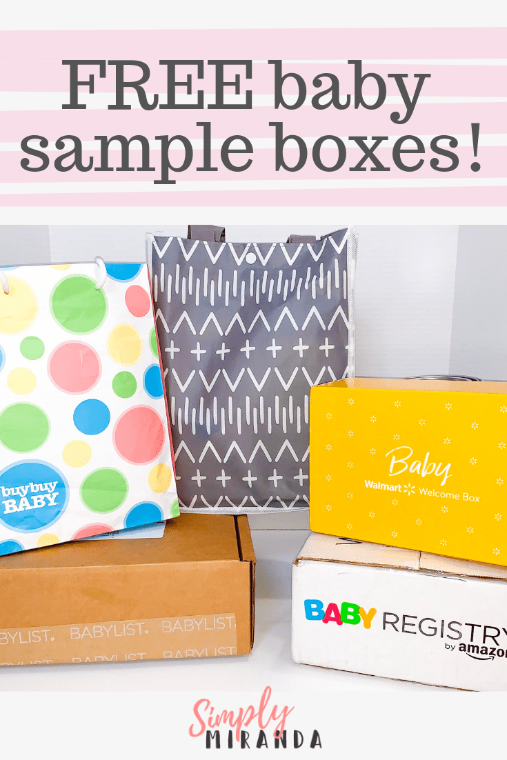 How to get free baby samples by mail for new and expecting