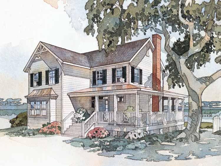 Eplans Farmhouse House Plan