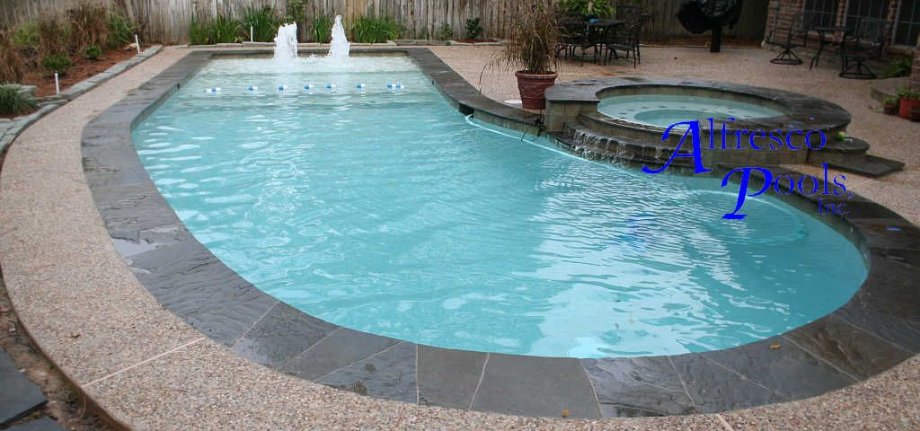 Flagstone Pool Coping Google Search Pools Pinterest