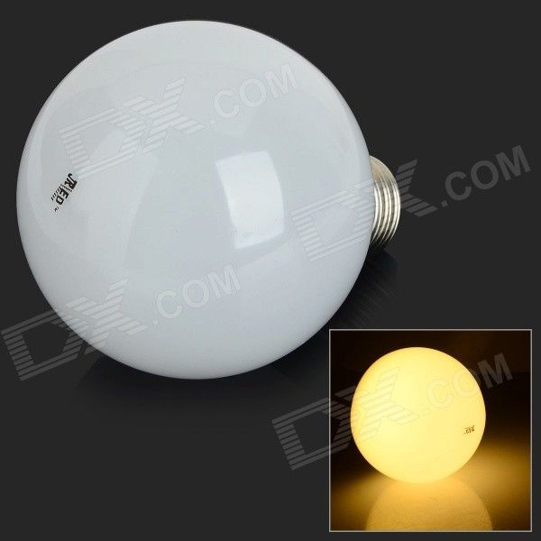 Jrled E27 10w 700lm 3300k 40 Smd 2835 Led Warm White Light Ball Bulb White Silver Ac 220v
