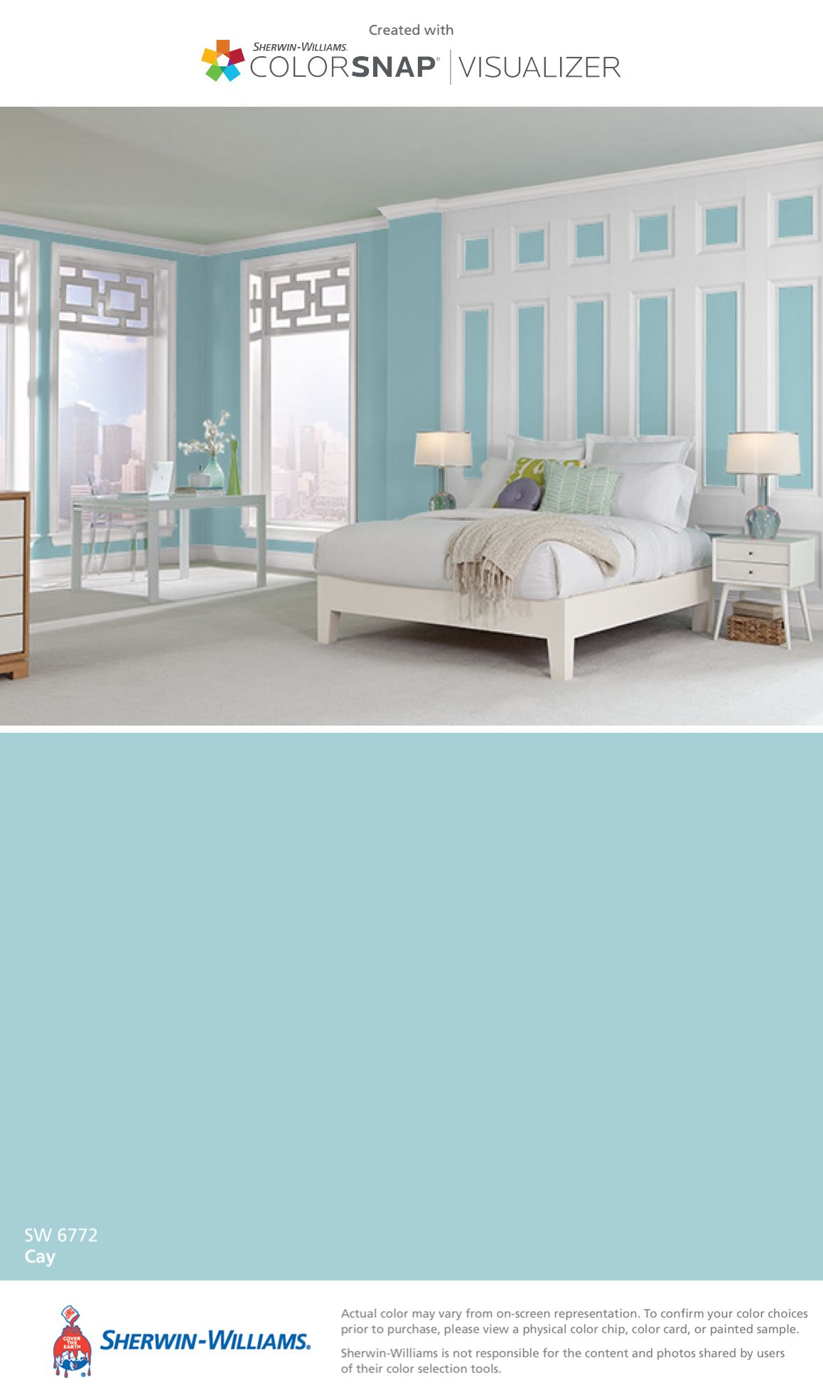 Aqua Bedroom Color Schemes