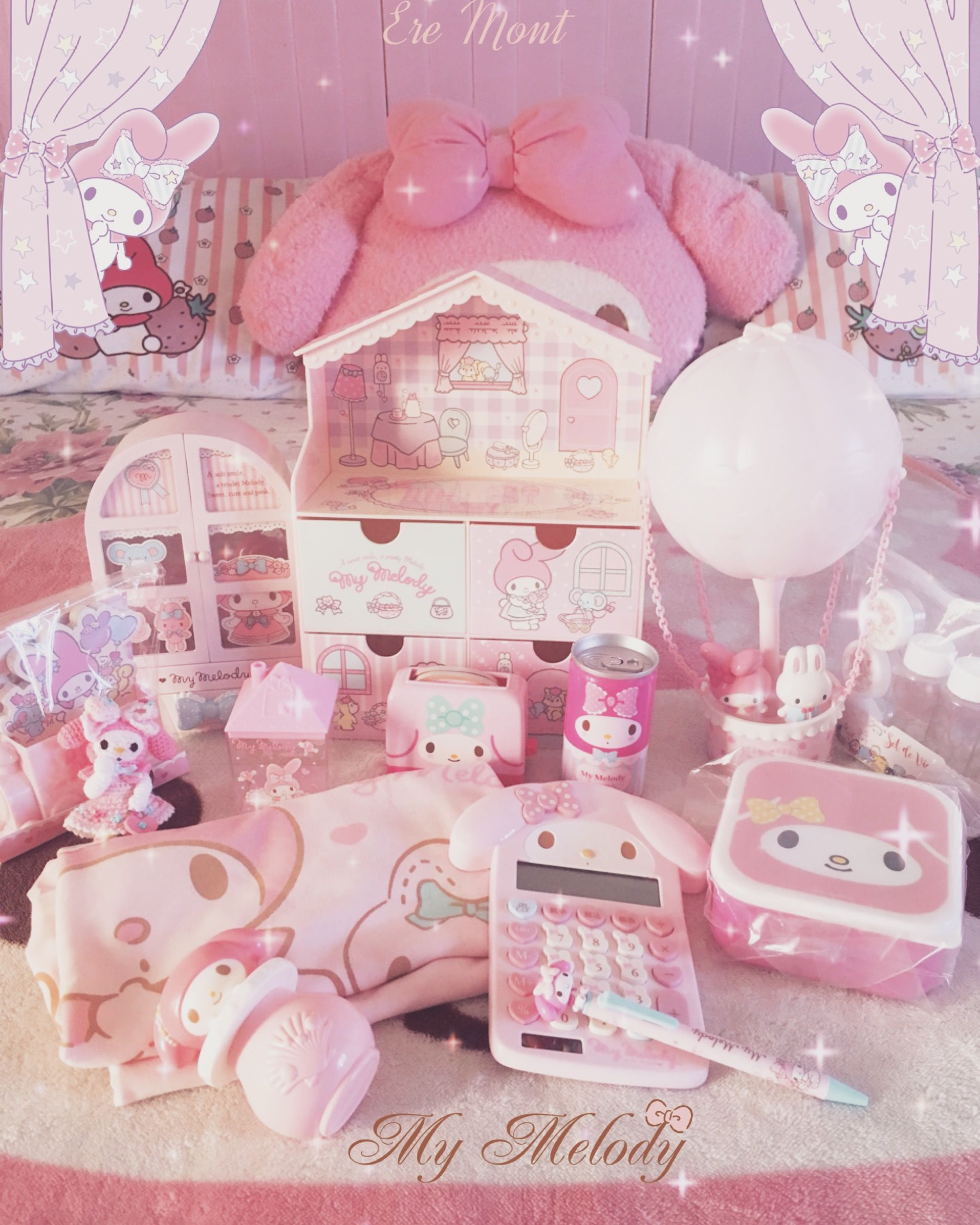 Mis Compritas Kawaii Room Baby Pink Aesthetic Cute Bedroom Decor