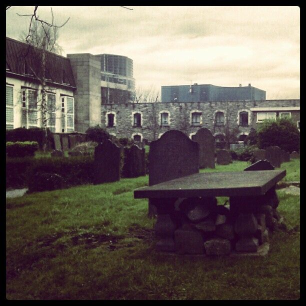 St Michan's Church In Dublin -- Has Crypts Under With