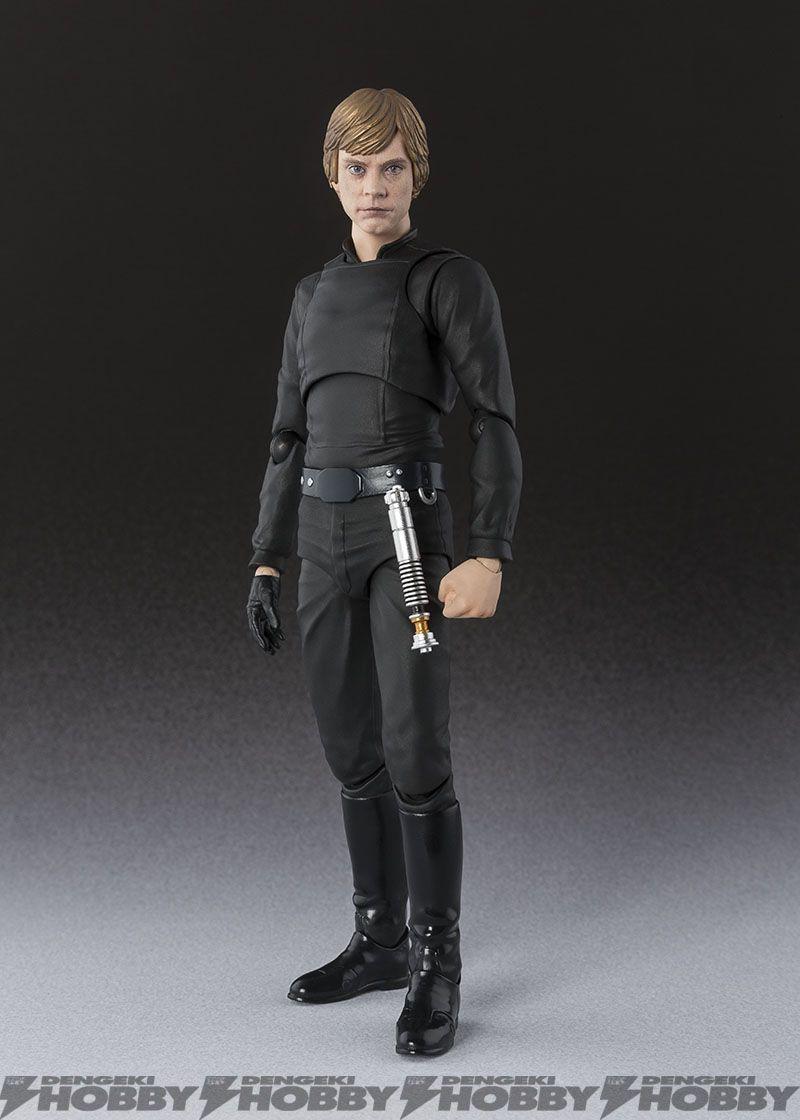 """S.H.Figuarts Star Wars Luke Skywalker Jedi Knight Action Figure 6/"""" SHF Toy Gift"""