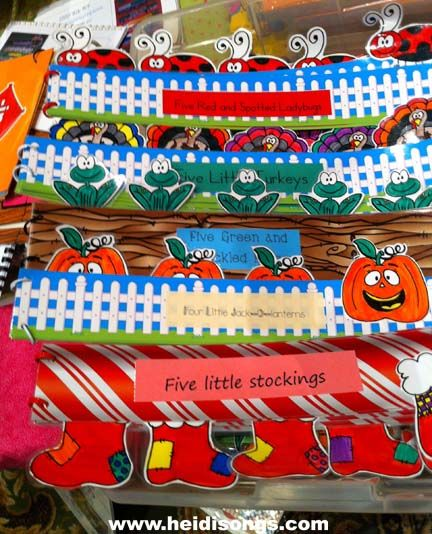 Border Books!  Make books out of borders and bulletin board sets.