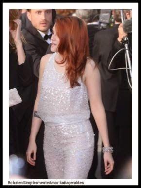 Robsten Simplesmente Amor: Mais fotos de Kristen na premiere de Clouds of Sil...