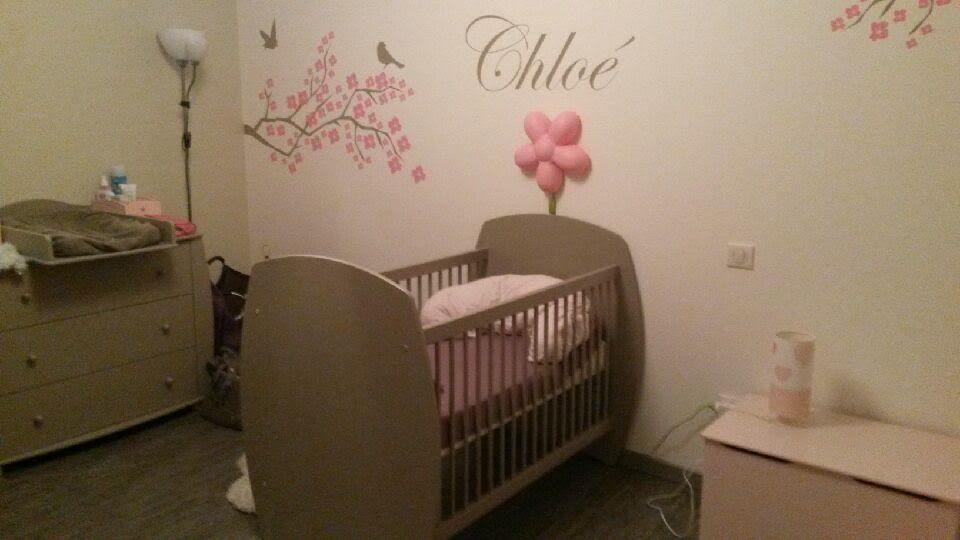 La mini chambre bébé Rêve lin de Chloé  #chambre #bébé