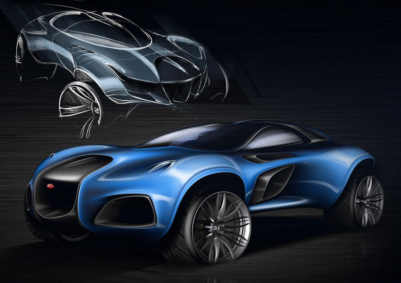 New Bugatti SUV 2030 | Design auto | Bugatti, Concept cars, Cars