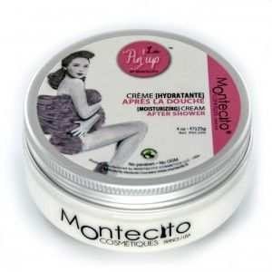 After Shower Cream by La Pin'Up Montecito-lid closed