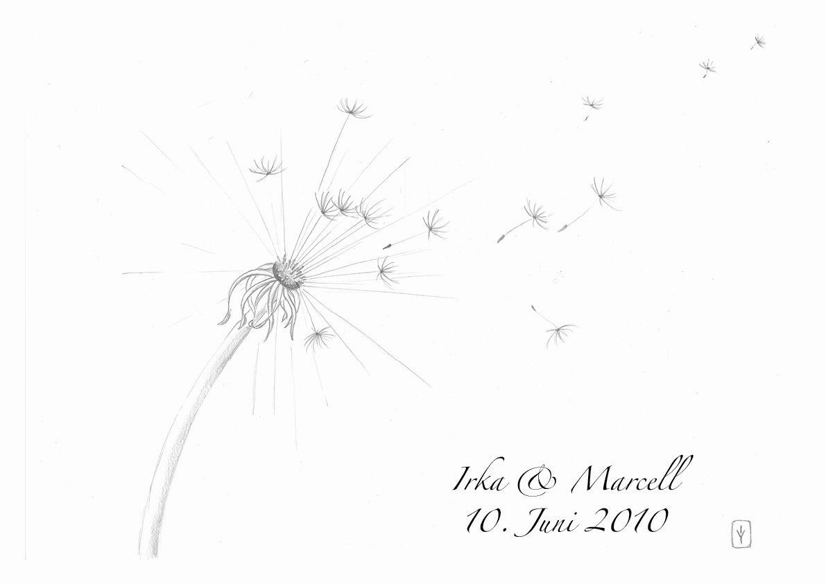 dandelionweb 1pompom  baum hochzeit löwenzahn die