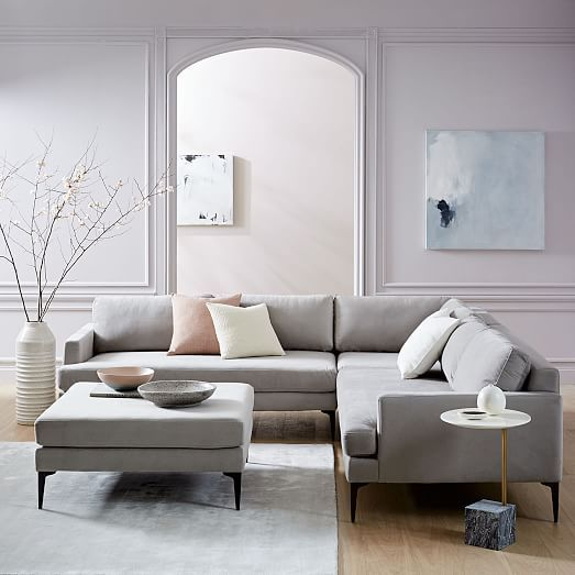 Andes LShaped Sectional  Interior Design Concepts
