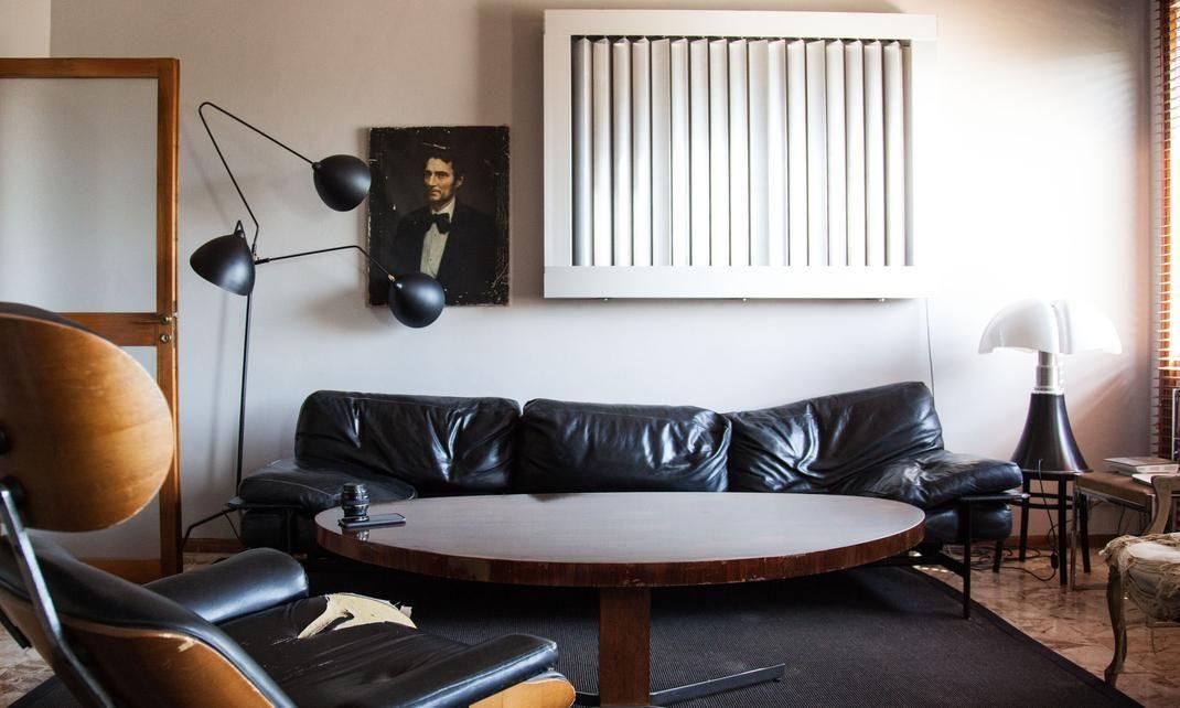 Salon Appartement Architecte Décorateur Hannes Peer Milan