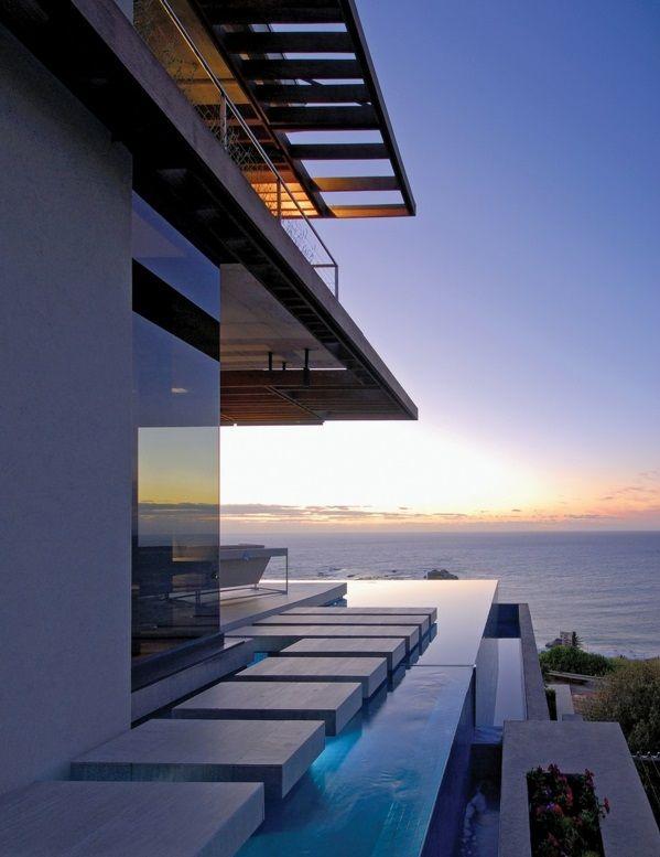 Eine Moderne Luxus Residenz Mit Wunderschönem Blick