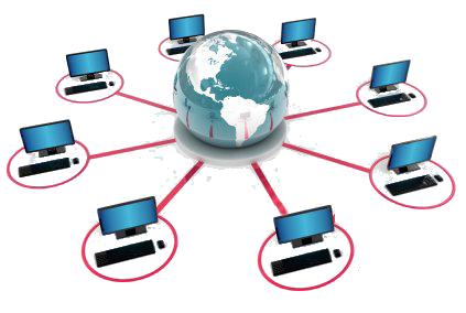 קישורים נכנסים Distributed computing, Computer network