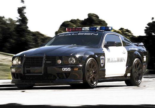 Saleen Interceptor Police Cars Ford Police Ford Mustang Saleen