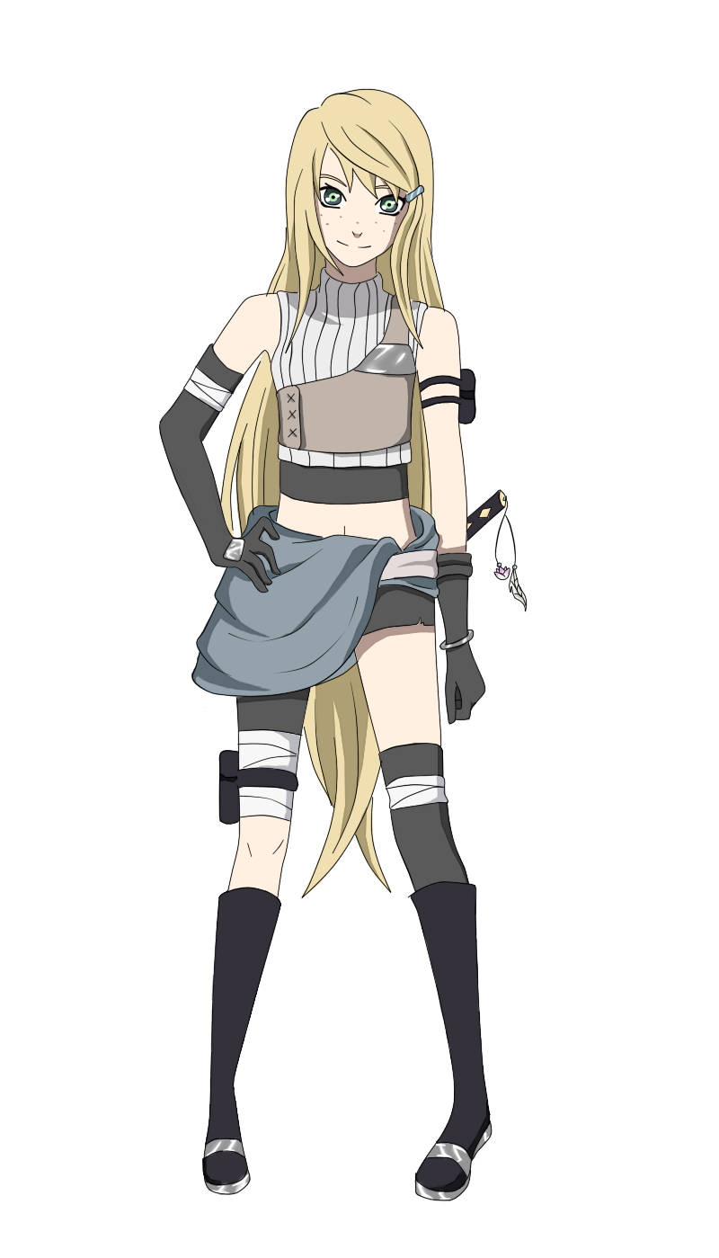 Miuu for Naruto OC Collab by on