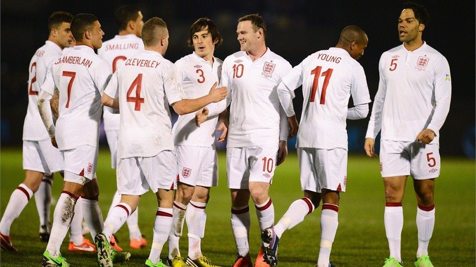 Inglaterra - Mundial Brasil 2014 - www.a3dedos.com