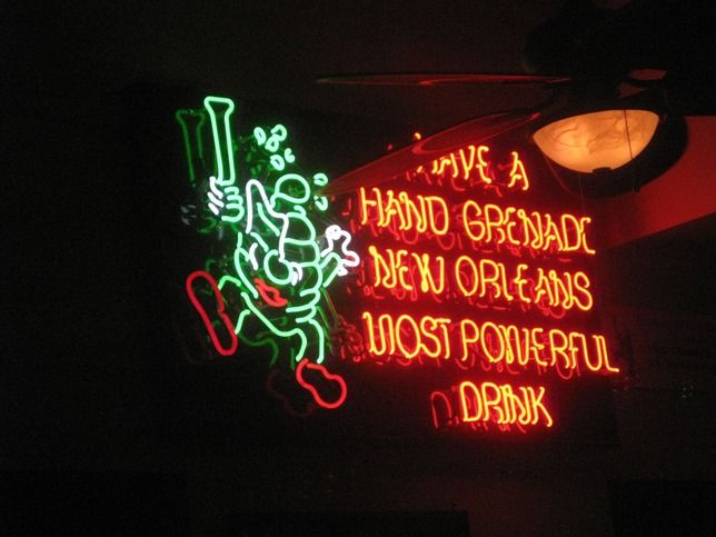 Try the Hand Grenade..... - New Orleans